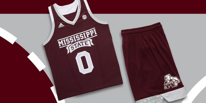 1f9b6c27a adidas create yours 2017 ncaa uniforms Mississippi State University womens 1