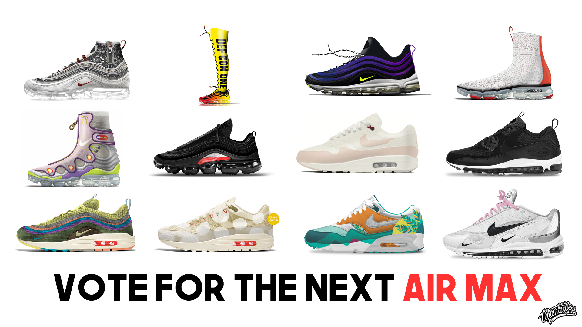 timeless design d22c6 d8aed Here Are Our Favorite Designs from Nikes Revolutionairs - We