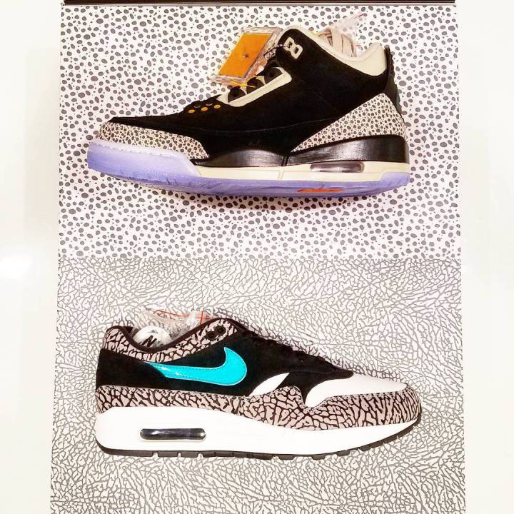 fda877b01970 A Tier Zero atmos x Air Jordan 3  Safari  Pack is Coming for Air Max ...