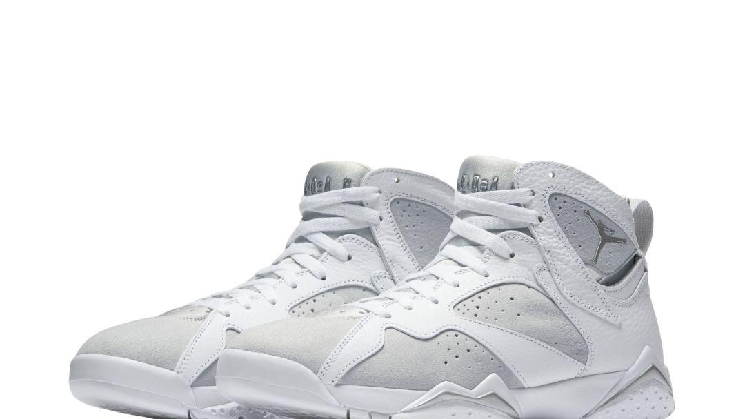 brand new 2eaee 4d773 The Air Jordan 7 Retro White Metallic Set for Summer Release ...