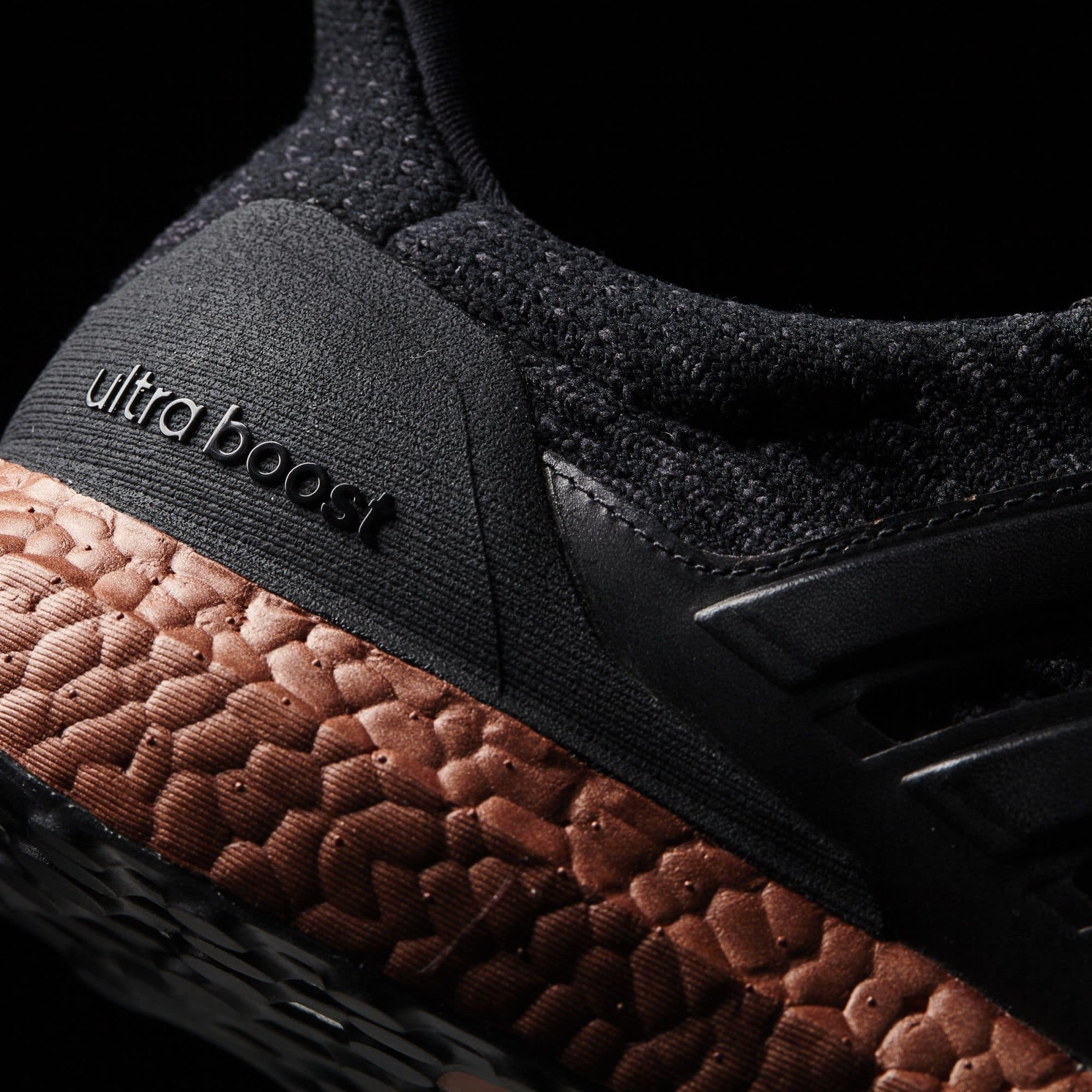 UA Adidas Ultra Boost 3.0 Bronze