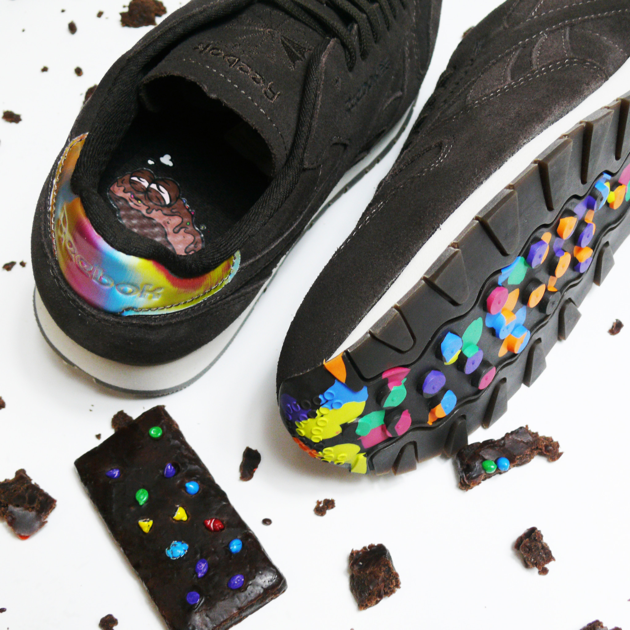 5053782d335 Reebok classic leather leather MSP munchies pack cosmic brownies ...