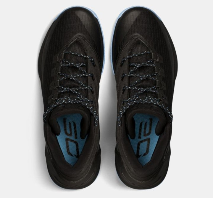 under armour curry 3 black light blue 3