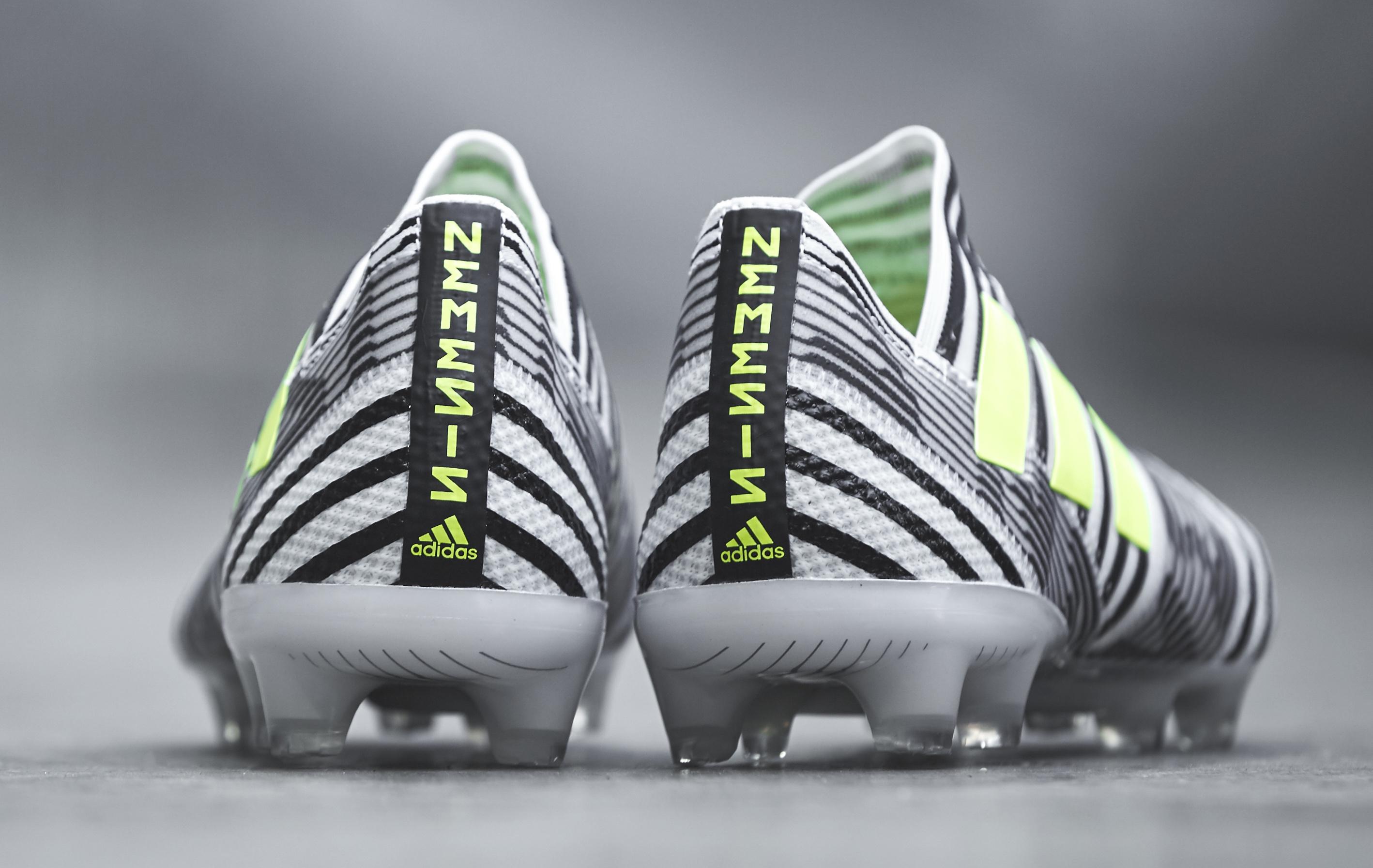 adidas Launches Nemeziz Soccer Cleat for Stars Leo Messi Renato Sanches and Roberto Firmino