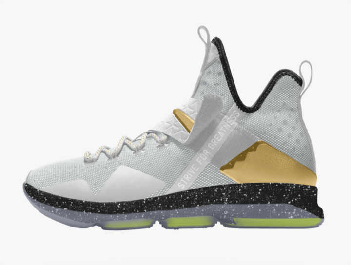 6b4bdc45a78 ... If you were interested in creating your own Nike LeBron 14 on NIKEiD  then you can ...