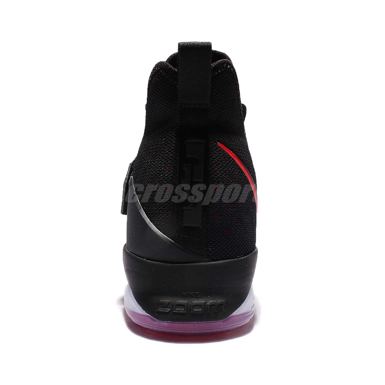 premium selection 3d05a 6bb45 Nike Lebron 14 Bred - Heel - WearTesters