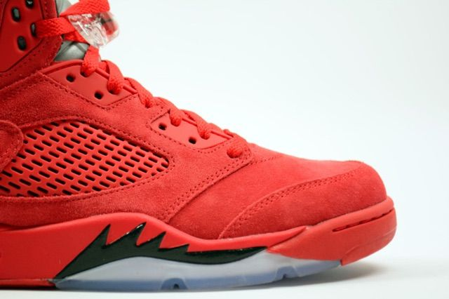 4f507d610d4e A Red Suede Air Jordan 5 Retro May Be Dropping Soon - WearTesters