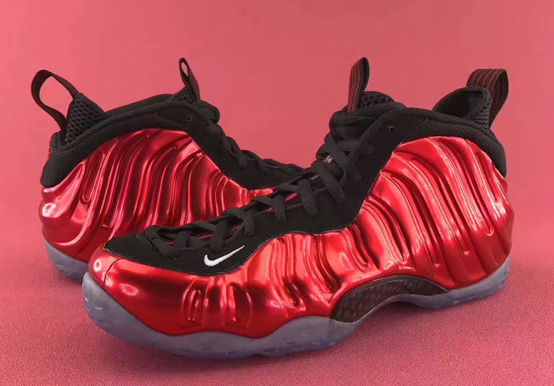 sports shoes 32683 91cdd The Nike Air Foamposite One  Metallic Red  Has Restocked - WearTesters