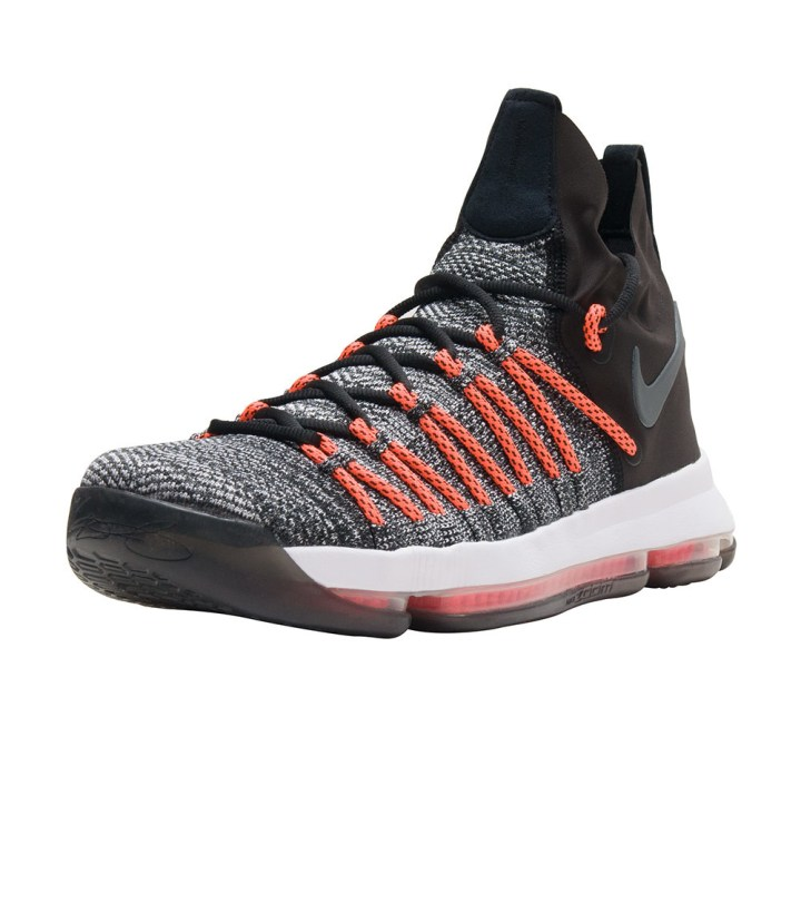 nike kd 9 elite Black:White:Dark Grey-Hyper Orange 2
