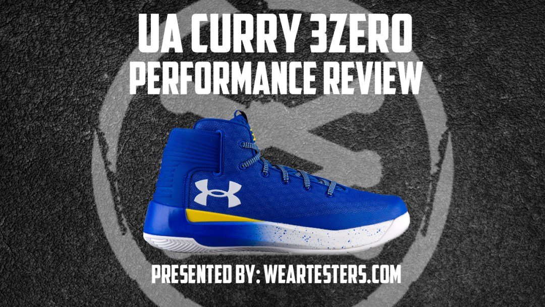 low priced 3717b d2aba Under Armour Curry 3 ZER0 performance review thumbnail
