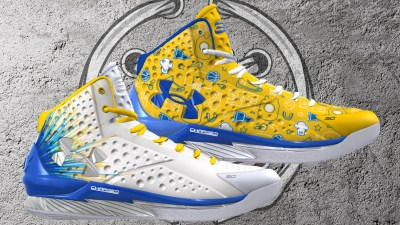 f2abb242d103 Limited Edition UA Curry 1 ICON Celebrates Stephen Curry s Second NBA  Championship