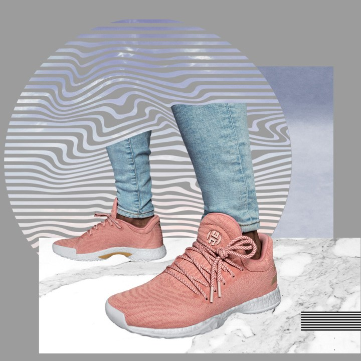 2eab998479f5 Click HERE to pick up the adidas Harden LS  Dust Pink  for  160.