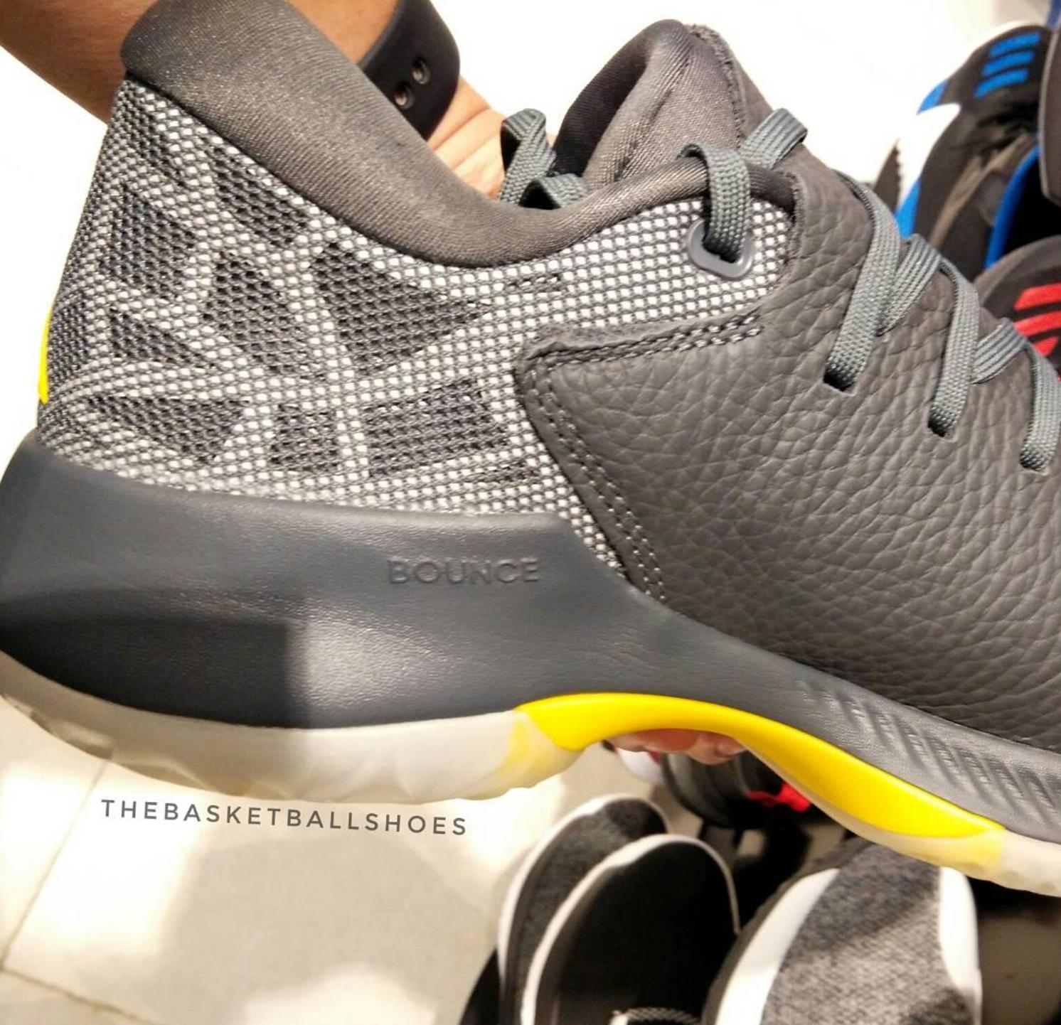 the best attitude 7fcc2 f876e adidas harden be grey yellow 3