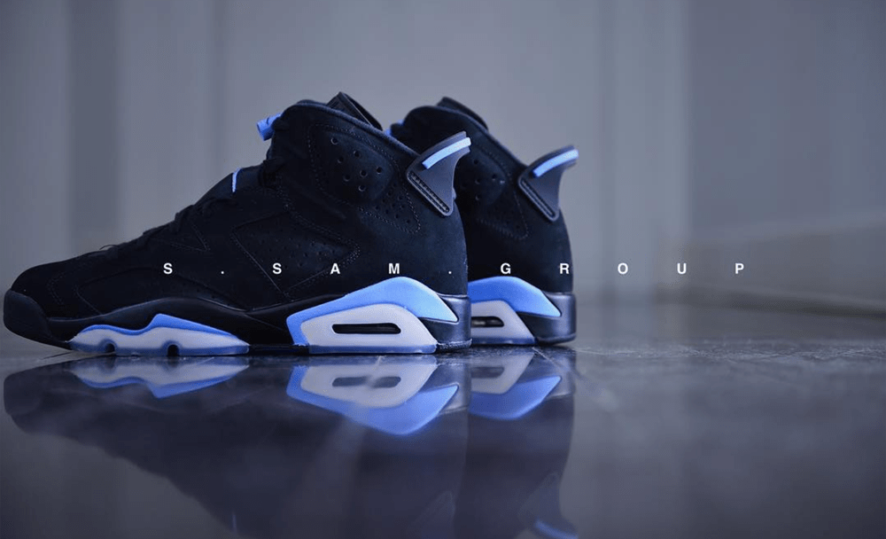 2c6d84d77bf7 Get Up Close and Personal with the Air Jordan 6 Retro  UNC ...