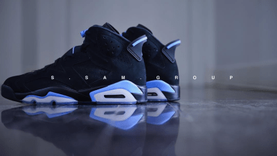 f8650cfe57322a ... Get Up Close and Personal with the Air Jordan 6 Retro UNC ...