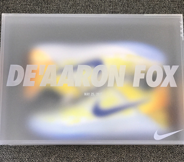Nike Sent De Aaron Fox a Very Special Pair of Kobe A.D.s - WearTesters 81a04e1ff