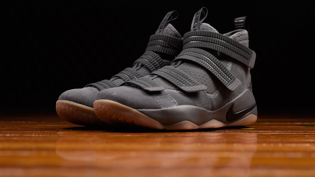 2b01a545eb97 The Nike LeBron Soldier 11 has Dropped in  Grey Gum  - WearTesters