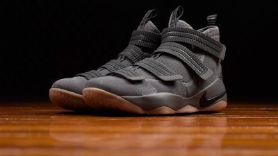 634c73762164 The Nike LeBron Soldier 11 has Dropped in  Grey Gum