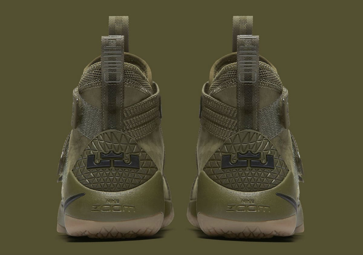846c732df3 The Nike LeBron Soldier 11 Gets an Olive Makeover-6 - WearTesters