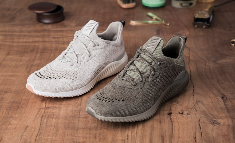 06a4af0b9 Premium Suede Makes an Appearance on the adidas AlphaBounce LEA ...