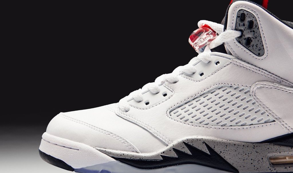 7d724fdc4031 The Air Jordan 5 Retro  White Cement  Arrives Next Week - WearTesters