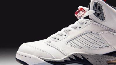 27199f9a2d76e6 The Air Jordan 5 Retro  White Cement  Arrives Next Week