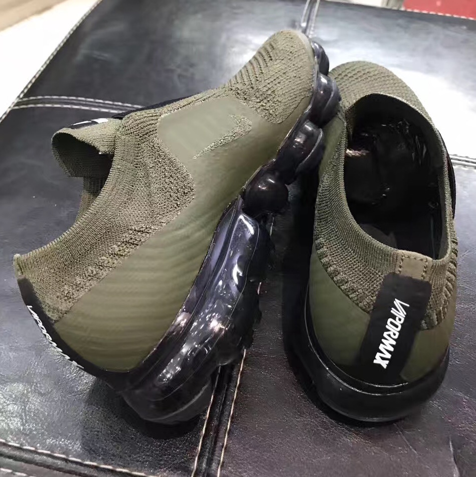 da11a39c04 nike air vapormax laceless olive 6 - WearTesters