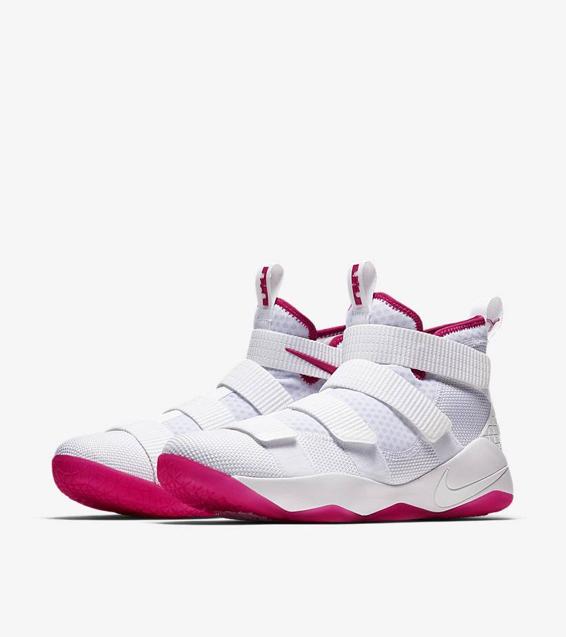 wholesale dealer 1b92d a647c nike lebron soldier 11 kay yow breast cancer awareness 7 ...