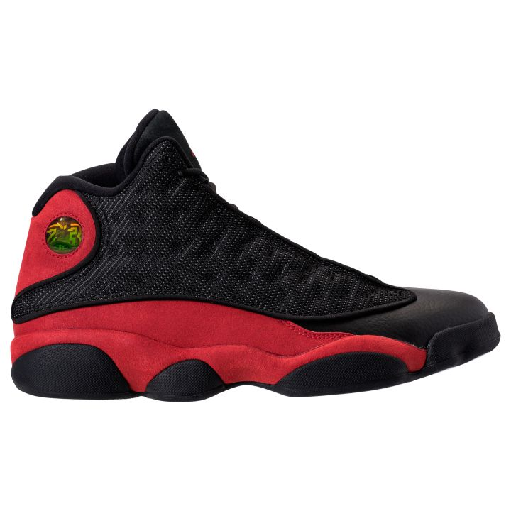 new concept db693 2b062 This Air Jordan XIII Retro features True red suede from midfoot to heel,  just like the original, with a leather toebox. The sweeping midfoot panel  is a ...