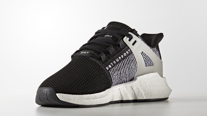 The adidas EQT Support 93 17 Boost in Black White Has Dropped ... 9fe6e8243