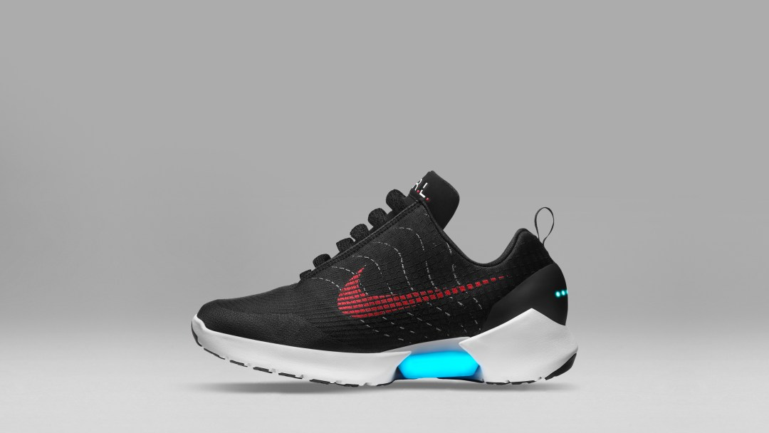 The Nike Hyperadapt 1.0 to Release in Black White-Red Lagoon ... e8ef8113c