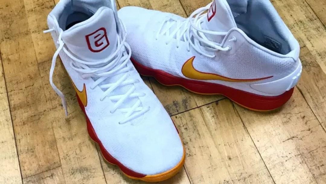 4b7d878f976a Pau Gasol s Nike React Hyperdunk 2017 PE for FIBA Play - WearTesters