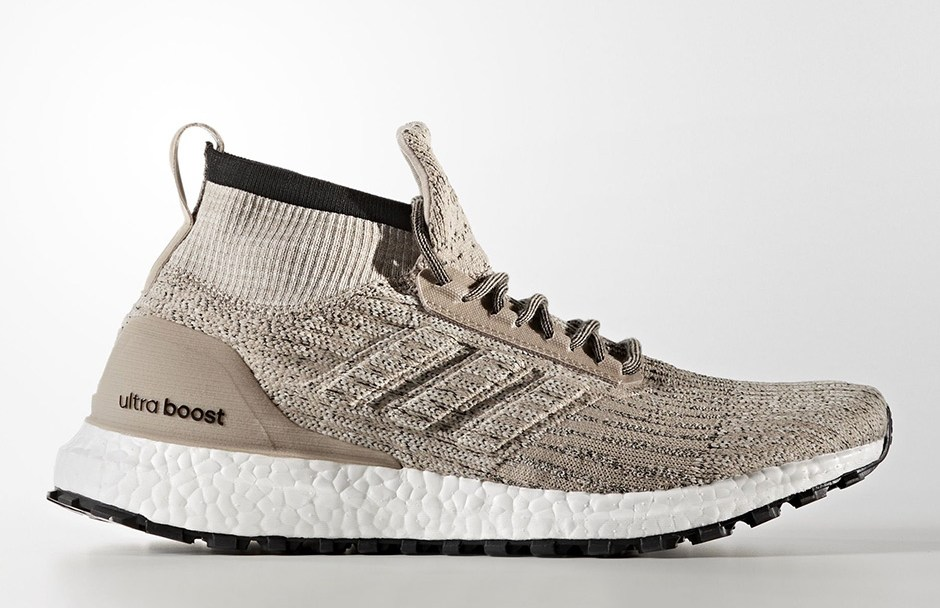 5be14b0ecb08a The adidas UltraBoost ATR Mid Releases in Trace Khaki Clear Brown ...