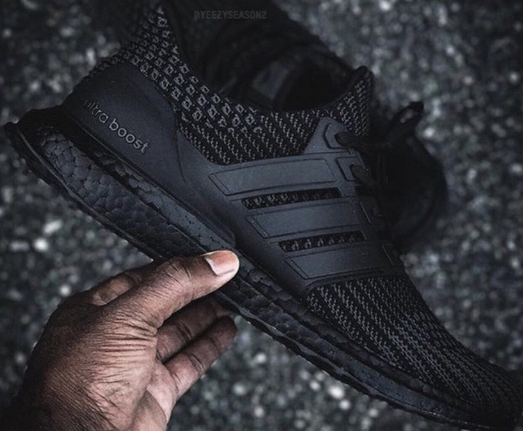 8c1f5dbe38e70 Images of the adidas UltraBoost 4.0  Triple Black  Appears - WearTesters
