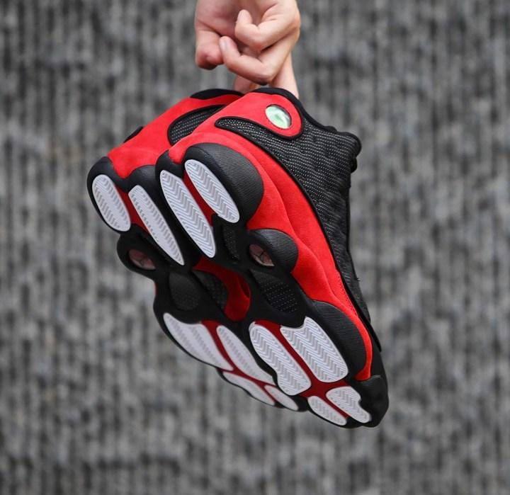 3f6dcd7c617 Beauty Shots of the Air Jordan 13 Retro 'Black/Red' - WearTesters