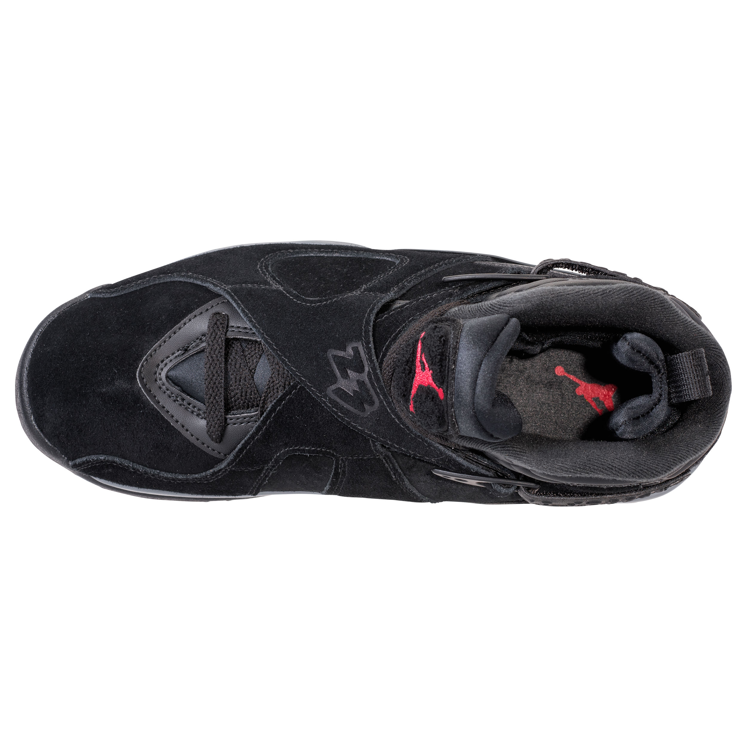 outlet store d40c2 49958 air jordan 8 retro black gym red 6