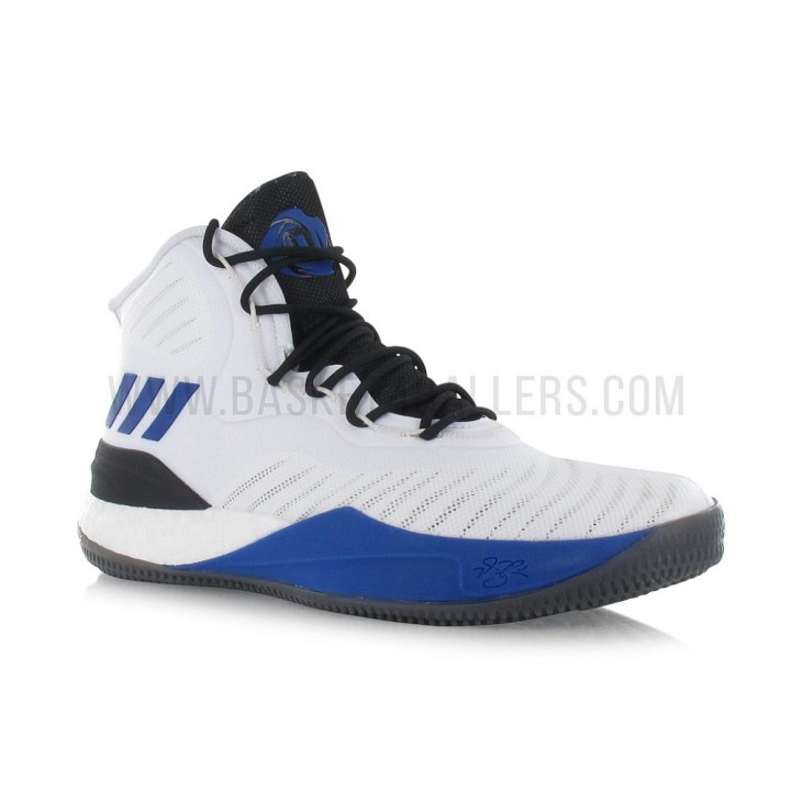 f224babf39be Adidas D Rose 8 Mens Basketball Shoe Royal Blue White  Another Chance adidas  d rose 8 white-black-blue 2 ...