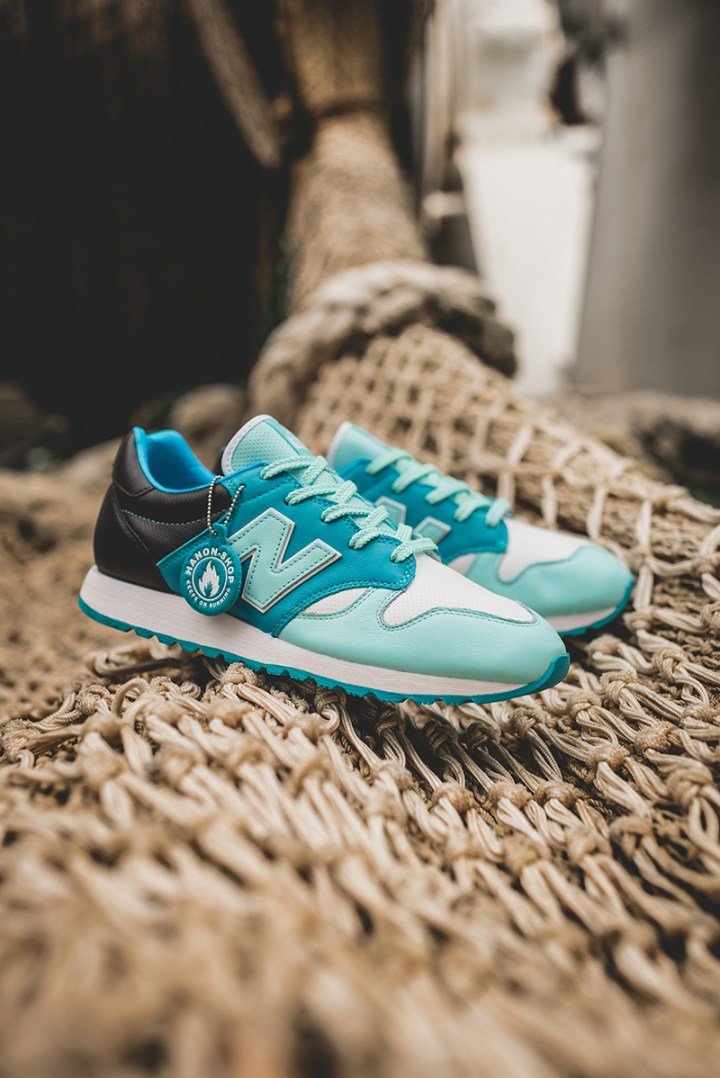 hanon new balance U520HNF fishermans blues 9