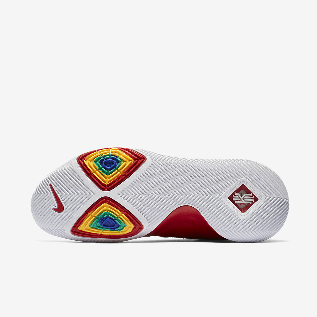 1c65fa35710 nike kyrie 3 red suede 7 - WearTesters