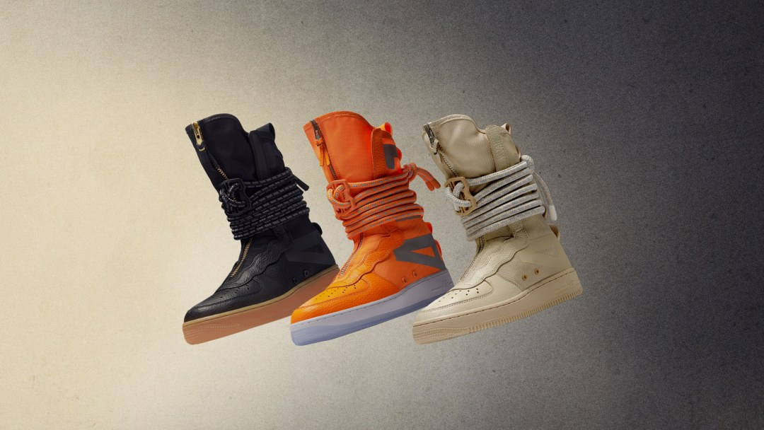 226cfa35b218ab New Zippered SF AF1 High Builds Celebrate 35 Years of the Air Force ...