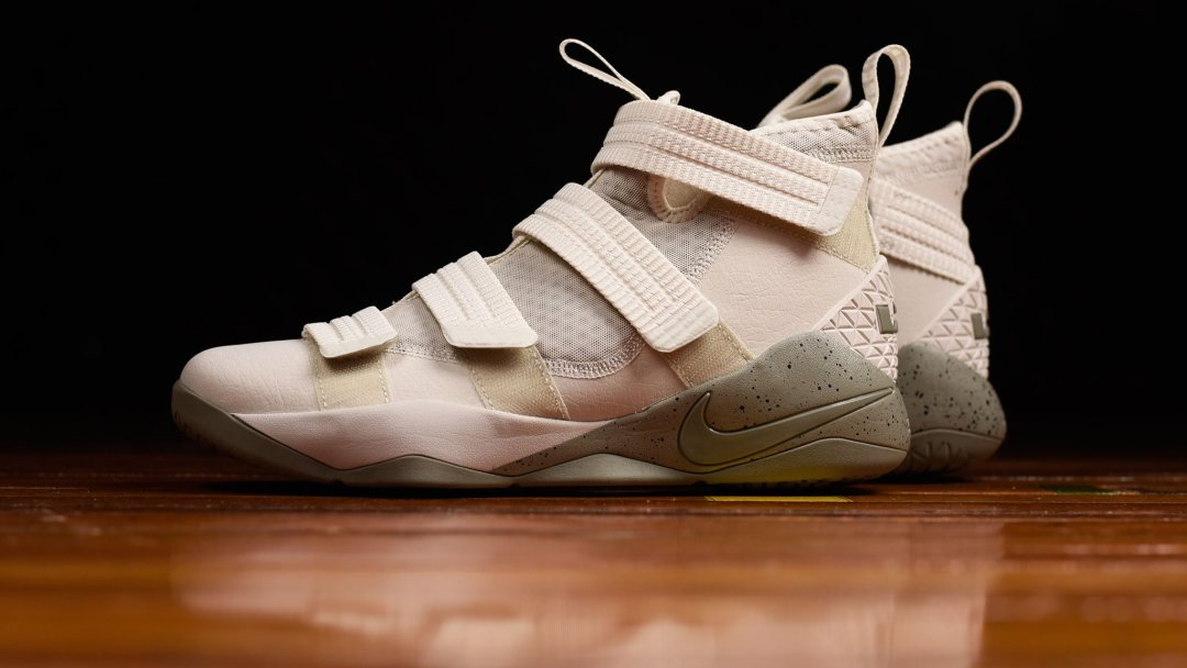 43f440db3674 The LeBron Soldier 11 SFG Gets a Leather Upgrade - WearTesters