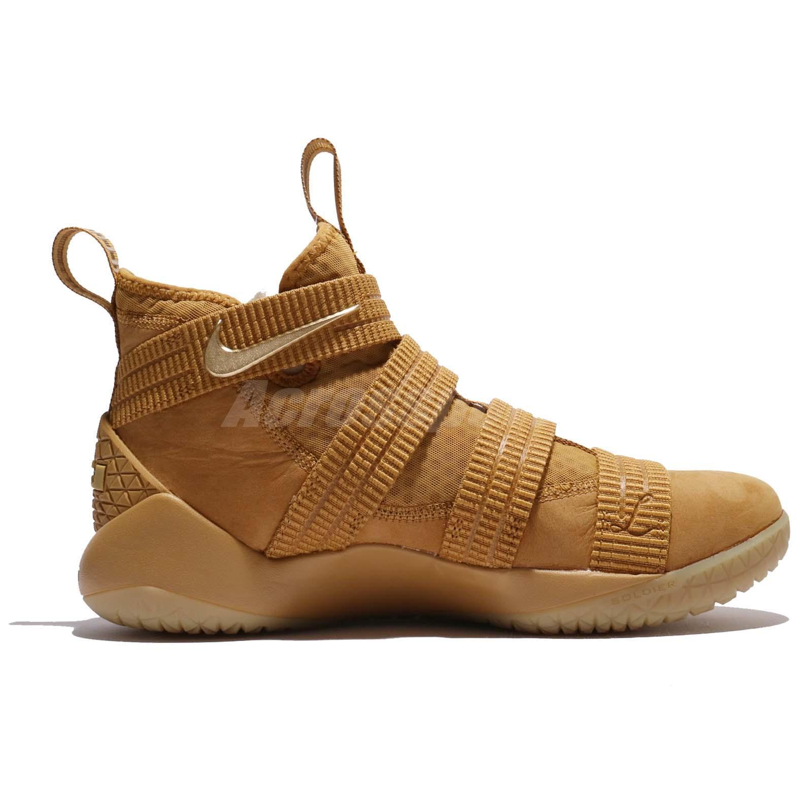f25a488fe79 nike lebron soldier 11 sfg wheat gold 3 - WearTesters