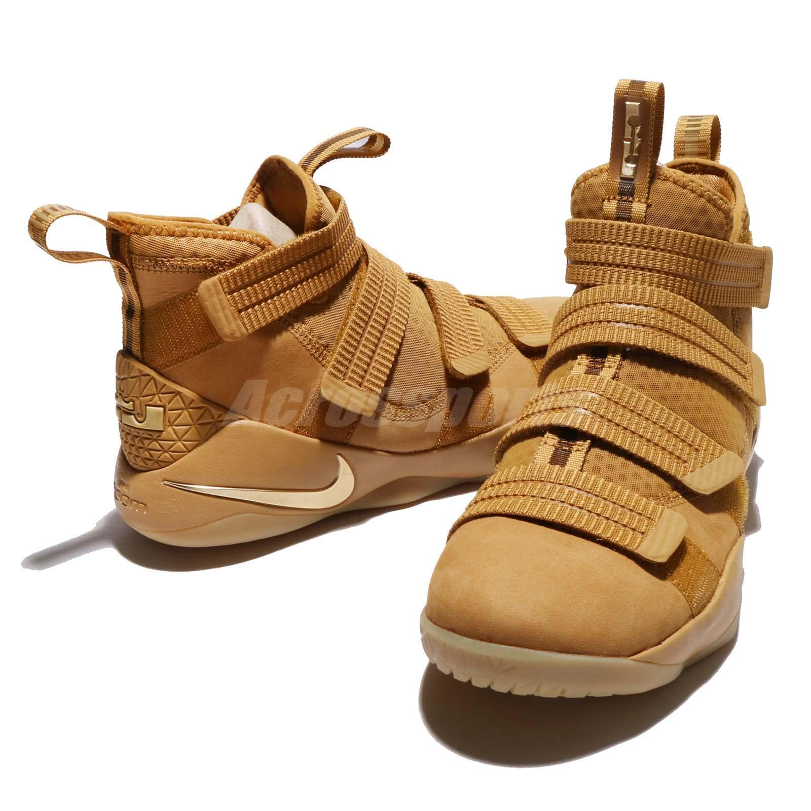 963b7f96a2e nike lebron soldier 11 sfg wheat gold 7 - WearTesters