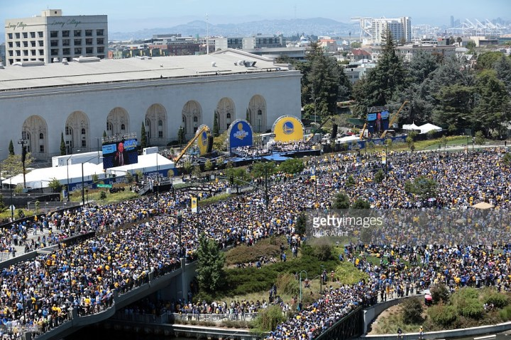 warriors 2015 parade oakland