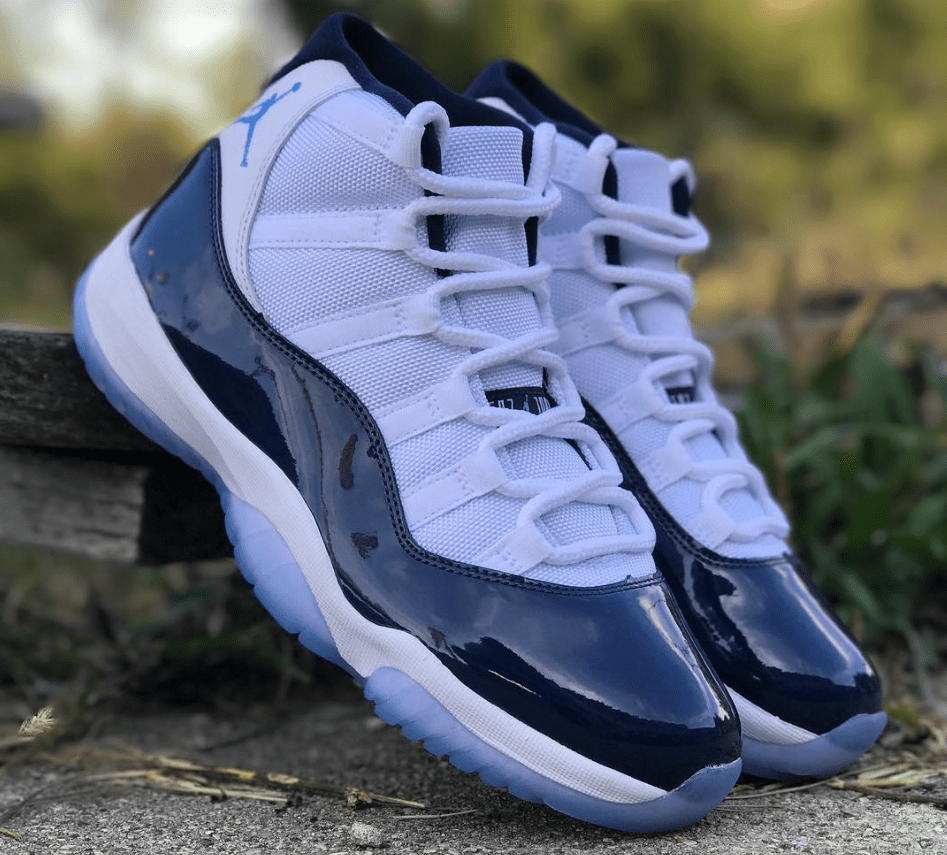 5080a9977a8 Air Jordan 11 'Midnight Navy' - Quick Look & Release Info2 - WearTesters