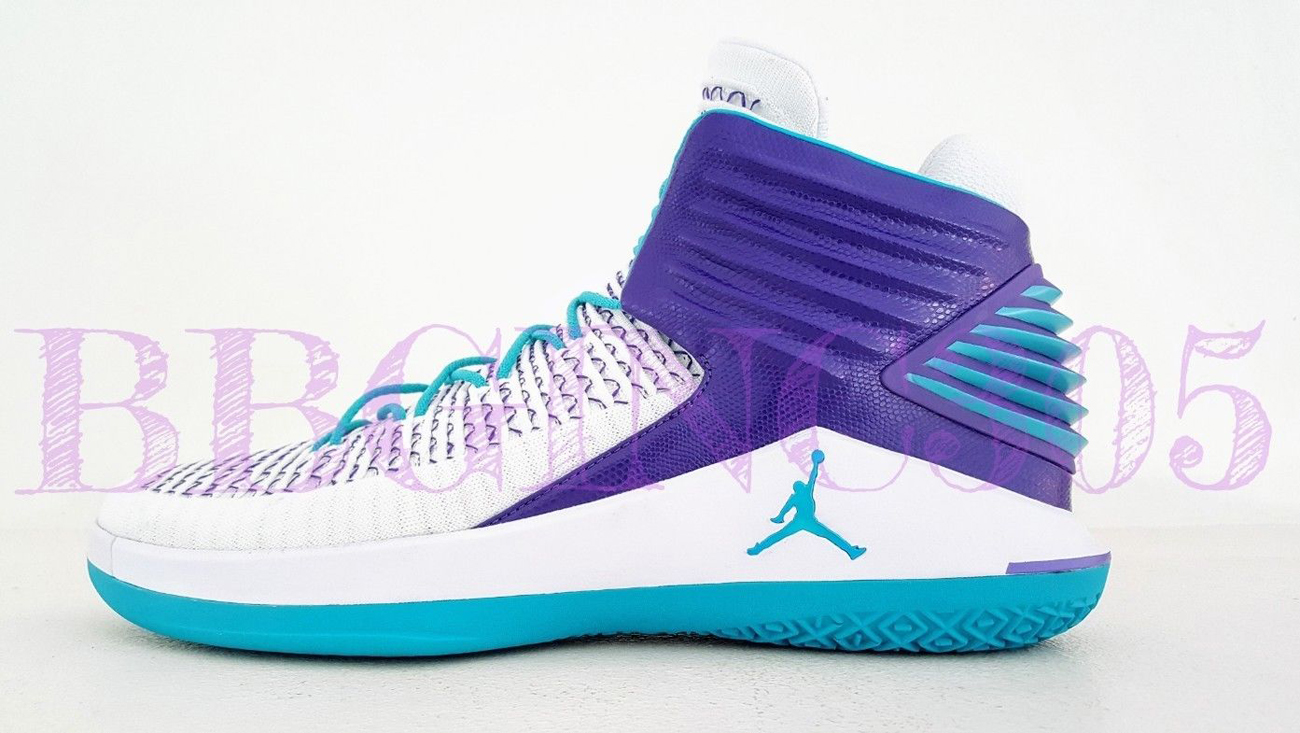 0d4380ab901120 Air-Jordan-32-Charlotte-Hornets-Home-PE-1 - WearTesters