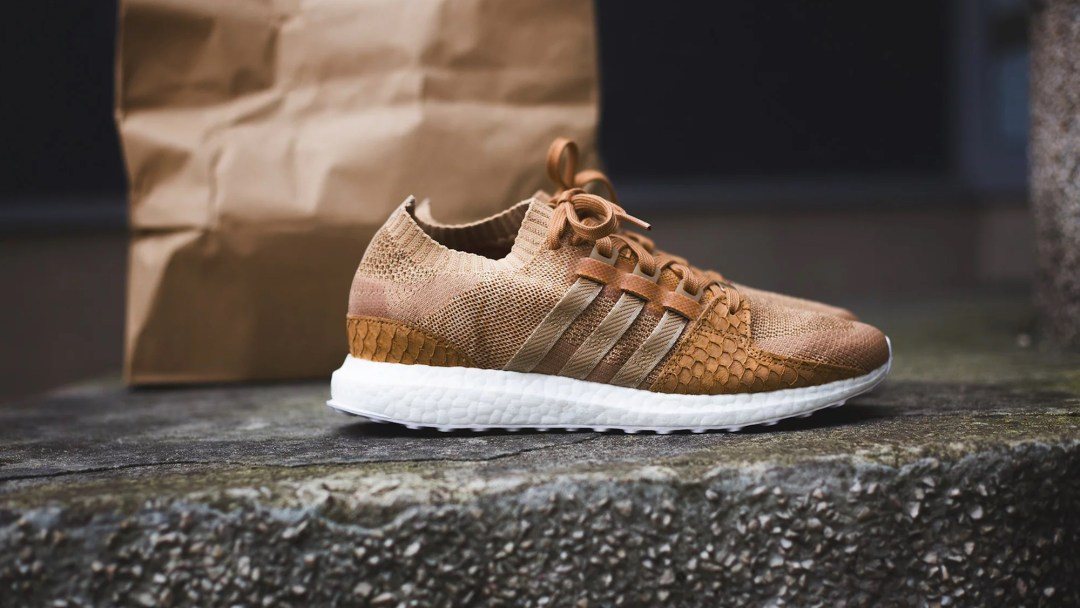 e97f0b156718b Here s a Better Look at the Pusha T x adidas Boost EQT  Brown Paper ...
