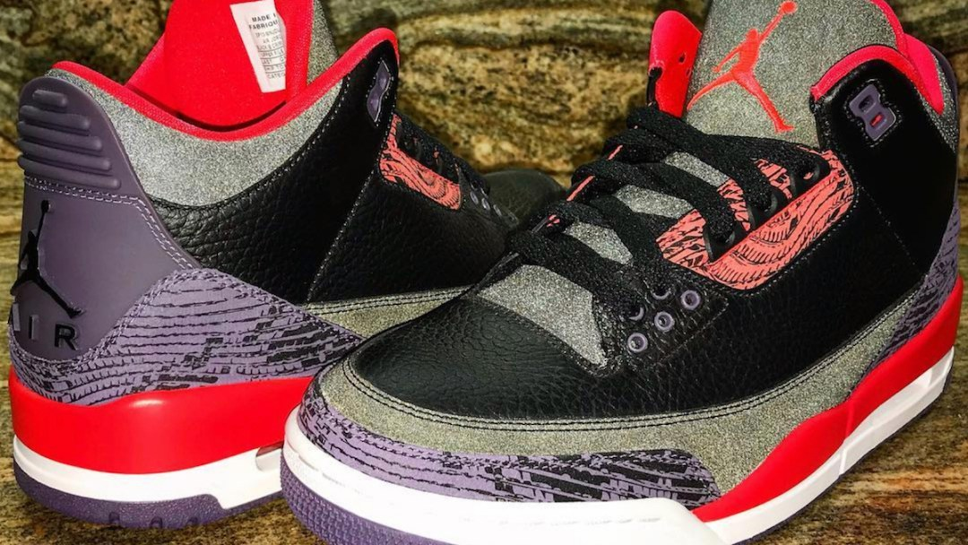 Check Out This Unreleased 3M Snakeskin Air Jordan 3 Retro Sample ... 7ac8226a0ce3