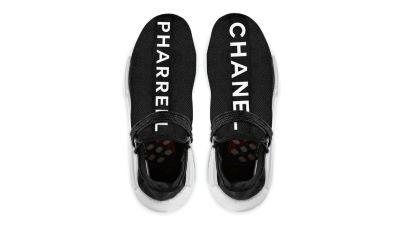 3ad63a1ccb84c4 Release Date  Chanel x Pharrell adidas Originals Hu NMD