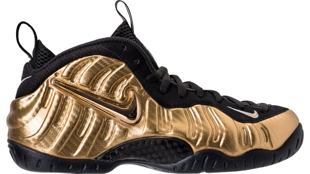 cd5c098b03b Detailed Look at the Air Foamposite Pro  Metallic Gold  - WearTesters